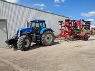 New Holland T 8030 + Grubber Horsch Tiger 6 LT