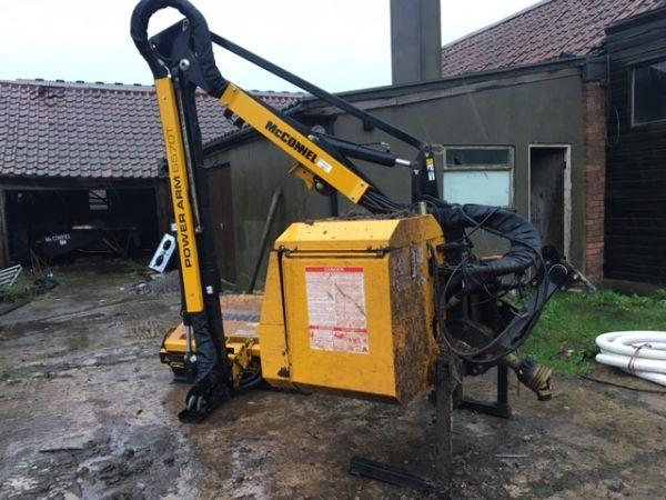 McConnelll McConnell 6570T Hedgecutter - £16,450 +vat