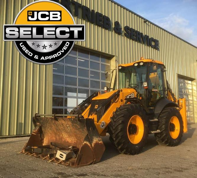 JCB 4CX Advanced Easy Control