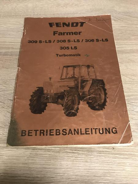Fendt  Farmer 309 308 306 305 S/LS