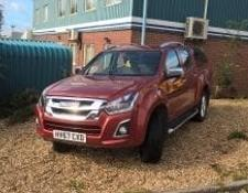 Isuzu D-MAX 1.9 UTAH PICK-UP TRUCK